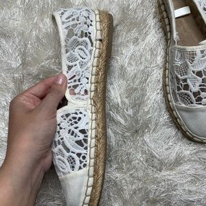 Mossimo Supply Co. Shoes - Mossimo Crochet Espadrille Flat